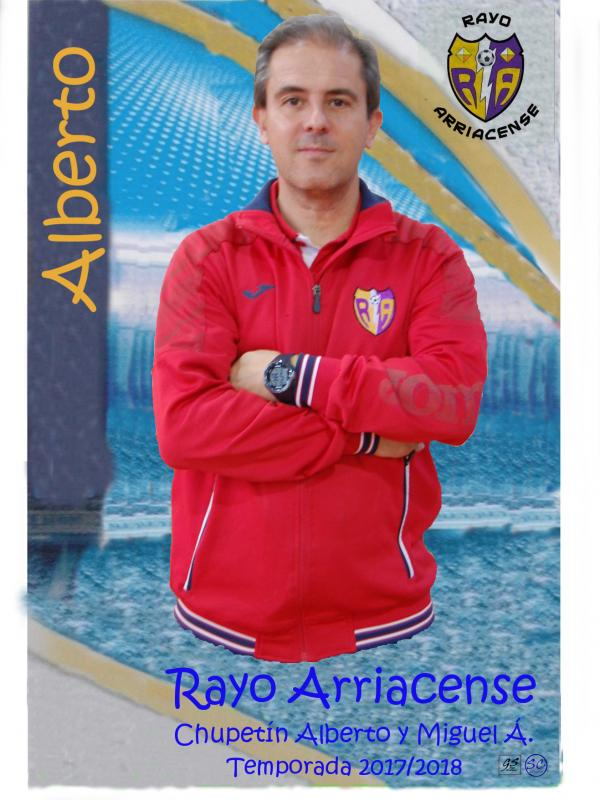 CARLOS ALBERTO SANZ REDONDO (Entrenador  RAYO 2015-2016 2017 CHUPETIN..)