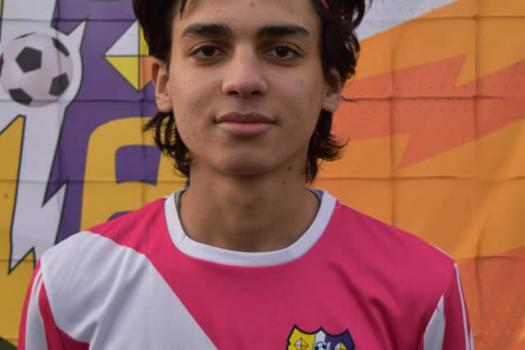 Jugador de la semana, Rayo juvenil, pinturas Alfredo Gutierrez....